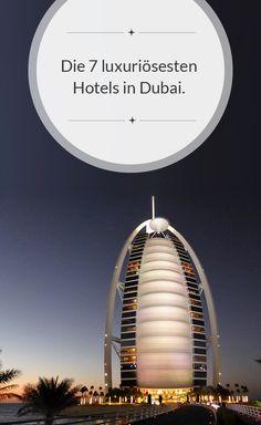 Das Burj al Arab ist wohl jedem bekannt – aber welche Hotels sind ihm dicht auf den Fersen? Entdecke jetzt die luxuriösesten Hotels in Dubai: http://dubai-exklusiv-hotels.de/luxushotels-dubai/