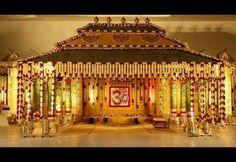 Welcome to the channel Home modern info Kalyan mandapam stage decoration designs. Welcome to the channel Home modern info Kalyan mandapam stage decoration designs are here so watch a. Desi Wedding Decor, Wedding Hall Decorations, Wedding Mandap, Backdrop Decorations, Wedding Events, Wedding Ideas, Wedding Blog, Wedding Halls, Wedding Planning