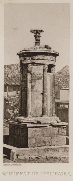 1890, Lysicrates Monument  - CABROL, Elie