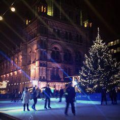 #London #icerink #naturalhistorymuseum #christmas