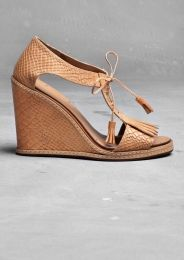 Wedge heel sandals / shoes / & other stories
