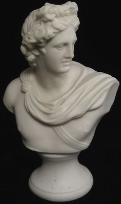C1870 Robert Cook Parian Bust of Apollo | eBay