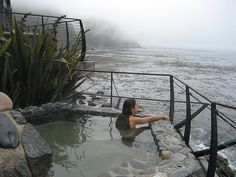 At the Esalen Institute in California's Big Sur, unless you are studying massage or meditation in one of their workshops, the only time you can come to the spa is between 1 and 3 in the morning and that is of course with reservations.