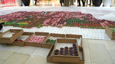 10,000 Cupcake Cherry Blossom Mosaic