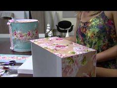 Mulher.com 16.02.2015 Marisa Magalhães - Caixa com scrap decor Parte 1.2, My Crafts and DIY