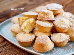 mini orange cakes. perfect with tea.