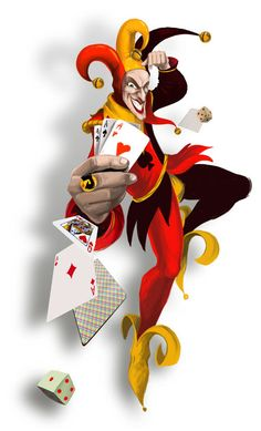 beautibul animation hearts    This is the colorful joker cards cartoon heart Wallpaper, Background ...
