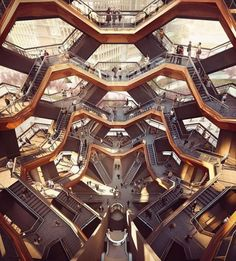 @AndreKikoski s newest building One Hudson Yards offers residents to look into this building The Vessel from their apartments. . The Vessel is designed by Thomas Heatherwick  Forbes Massie-Heatherwick Studio. - Architecture and Home Decor - Bedroom - Bathroom - Kitchen And Living Room Interior Design Decorating Ideas - #architecture #design #interiordesign #homedesign #architect #architectural #homedecor #realestate #contemporaryart #inspiration #creative #decor #decoration