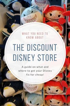 What you need to know about the discount Disney store. What you will find, where it is and how to save money on Disney Souvenirs!