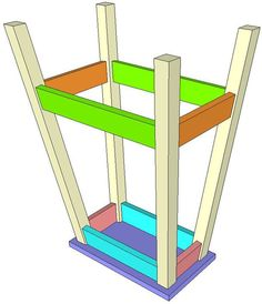 How To Make A DIY Pocket Hole Bar Stool – Jays Custom Creations