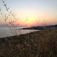 Sunset in the extreme south of Italy, S. Maria di Leuca