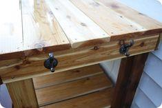 potting bench hooks