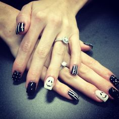Rachel leneve artistry  8019203486 Gel nails Halloween