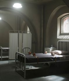 'American Horror Story: Asylum': The Spookiest Set on Television Arkham Asylum, Ahs Asylum, Teen Wolf, American Horror Story Asylum, Penny Dreadful, Story Inspiration, Horror Stories, Gotham, The Originals