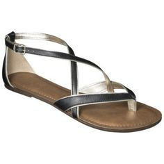Women's Merona® Emily Sandals - Assorted Colors - I have these in the mint and they're super comfortable