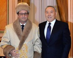 François Hollande au Kazakhstan