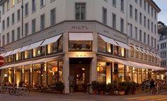 Haus Hiltl, the world's oldest vegetarian restaurant in Zurich, Switzerland Zurich, Chutneys, Vegetarian Options, Vegan Vegetarian, Vegetarian Recipes, Veg Restaurant, Restaurant Design, Beste Brownies, Mushroom Stroganoff