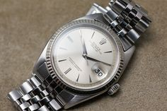 ROLEX datejust  Ref-1601(1961y) cal.1560 SS/WG ¥445,000 +T 2016.5.31.