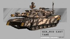 Tank Concept Art by Stuart Jennett