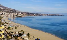 Playa de la Carvajal is one of the best beaches in Malaga