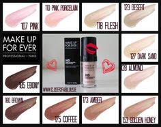 Makeup Forever HD Foundation Giveaway ‹ closer2fabulous.ie Hd Make Up, How To Make, Beauty Skin, Beauty Makeup, Makeup Forever Hd Foundation, Golden Honey, Giveaway, Lipstick, Skin Care