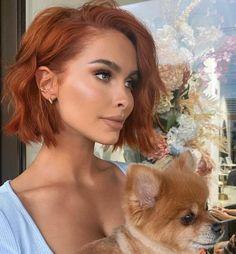 Medium Hair Styles, Curly Hair Styles, Red Hair Inspo, Cinnamon Hair, Ginger Hair Color, Ginger Hair Dyed, Hair Color Auburn, Bob Hair Color, Auburn Hair