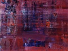 This beautiful work of art by Gerhard Richter was recently sold on Auction and donated to the Museum of Israel.