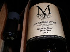 Montinore 2008 Pinot Noir Graham's Block 7