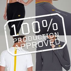 Tribesports Performance wear is officially going into production and you - yes, YOU - made it happen.