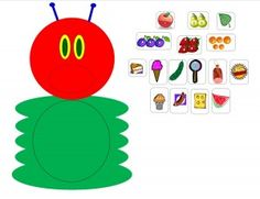 The very hungry Caterpillar put everything that he eat trough the hole in his tummy Rupsje Nooitgenoeguitknippen het rondje eruit knippen alles lamineren en dan kan &aac. Very Hungry Caterpillar Printables, Hungry Caterpillar Craft, Eric Carle, Spring Activities, Preschool Activities, Spring Theme, Chenille, School Fun, Book Crafts