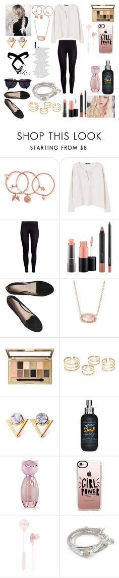 """""""Untitled #285"""" by elentiyasalvatore ❤ liked on Polyvore featuring ChloBo, MANGO, H&M, MAC Cosmetics, Kendra Scott, Maybelline, Kakao By K, Bumble and bumble, Nicki Minaj and Casetify"""