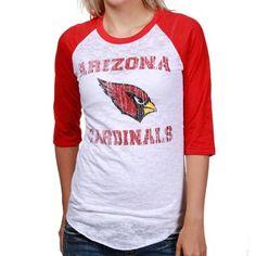 Women's Arizona Cardinals Junk Food Steel Touchdown Tri-Blend T-Shirt