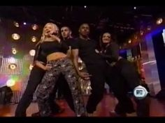 Christina Aguilera - Genie in a Bottle (MTV 2Large 1999). - YouTube