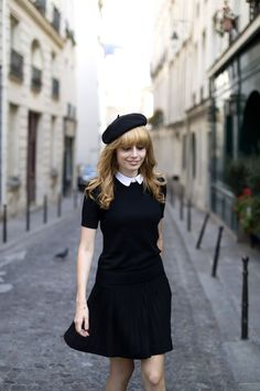 How To Wear a Beret - Parisian Style Inspiration 2017