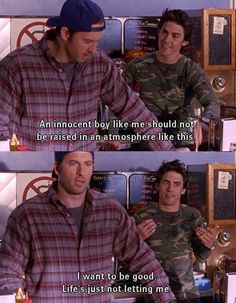 Gilmore Girls - Luke and Jess banter. Have I said yet how much I love Jess? Rory And Jess, Luke And Lorelai, Gilmore Girls Quotes, Gilmore Girls Funny, Team Logan, Lorelai Gilmore, Tv Show Quotes, Boys Like, Ms Gs