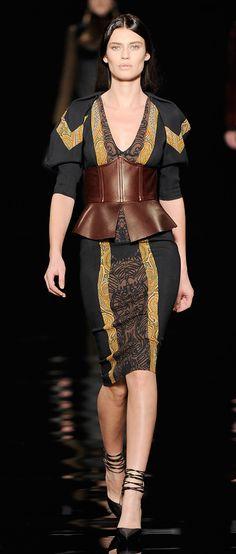 V-Neck Sheath Dress by Etro
