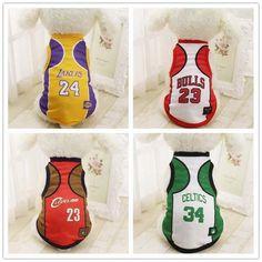 NBA Dog Clothes