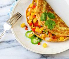 7. Hawaiian Omelet