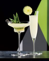 Margarita Recipe ~ According to master mixologist Dale DeGroff, a drink called the Tequila Daisy was served at Tijuana's Agua Caliente racetrack in the 1920s. It was made with lemon juice, tequila and a sweet ingredient—the template for a Margarita.