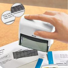 ID Guard Stamp & Refill, Hide Personal Information | Solutions