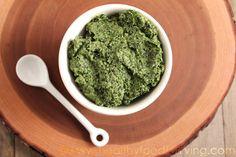 Kale Walnut Pesto  - Healthy Food For Living -