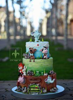 Happy Animals crin.sugarart - cake by Crin sugarart