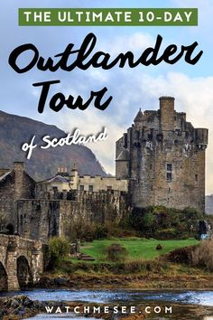 Want to relive Outlander in real life? Then don't miss this epic Outlander themed tour of Scotland! Here's what to expect and how to go. Scotland Travel Guide, Scotland Vacation, Scotland Tours, Europe Travel Tips, Travel Guides, Travel Destinations, Scotland Trip, Inverness Scotland, European Travel