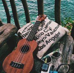Imagen de guitar, summer, and tumblr