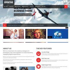 EFFEKTIVE Bootstrap MultiPurpose WordPress Theme | WordPress Theme Download