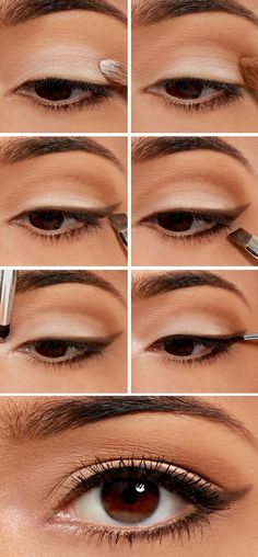 Apply Eye are so many ways to stand up your brown eyes and there are so many shades that you can use for your beautiful bright brown eyes #MakeupStyles #Eyeshadow #EyeMakeup