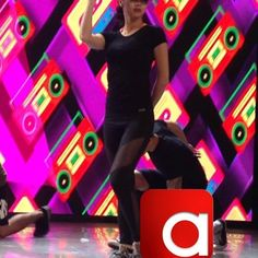 The gorgeous Kimmy rehearsing for her prod number on #ASAPMegaParty ctto #kimxi