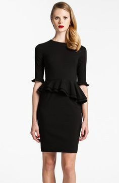Cynthia Steffe Ruffled Peplum Dress | Nordstrom size 2