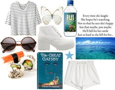 """""""fresh white"""" by serena-b ❤ liked on Polyvore"""