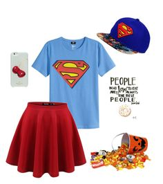 """Halloween"" by cake9 ❤ liked on Polyvore featuring H&M and Kate Spade"